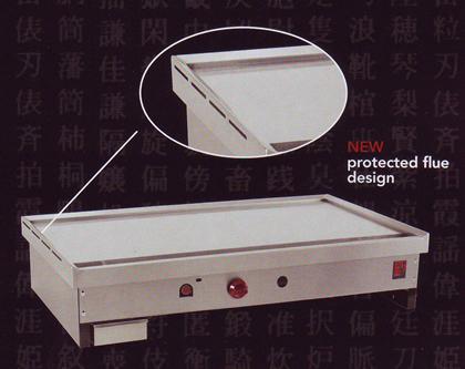 Teppanyaki Griddles for Japanese Teppan-Yaki Grill Cooking