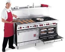 Wolf Challenger Ranges Use One Pilot Light For Each Two Burners Others 3 Standing Lights On A 6 Burner Range