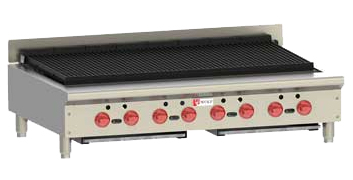 Wolf Achiever Series Charbroilers (ACB series 47 inch model shown)