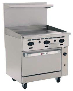 C36 Challenger XL Range with All Griddle Top