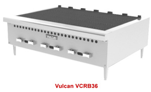 Vulcan Medium Duty Restaurant Charbroilers