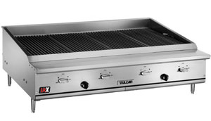 Wolf and Vulcan Char Broilers indoor BBQ Grills