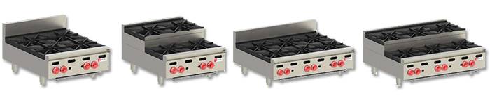 Wolf Restaurant Hot Plate Ranges
